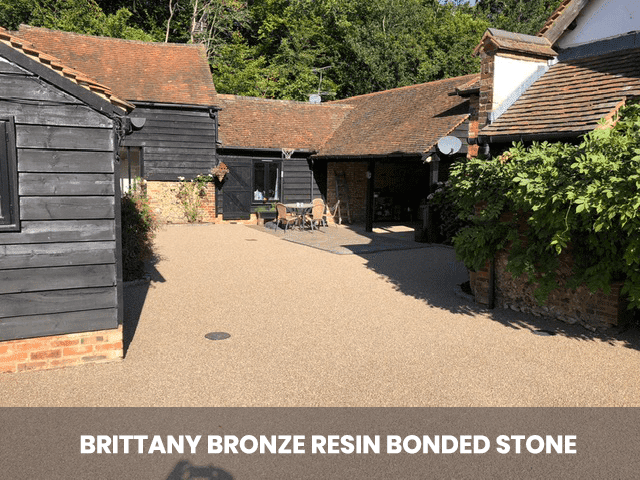 Brittany Bronze Resin Bonded Stone