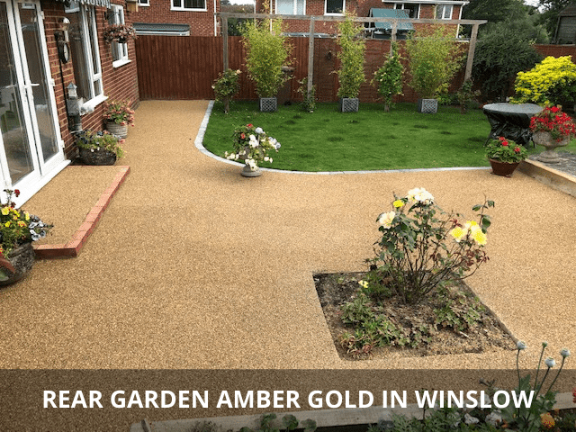 Rear Garden Amber Gold in Winslow